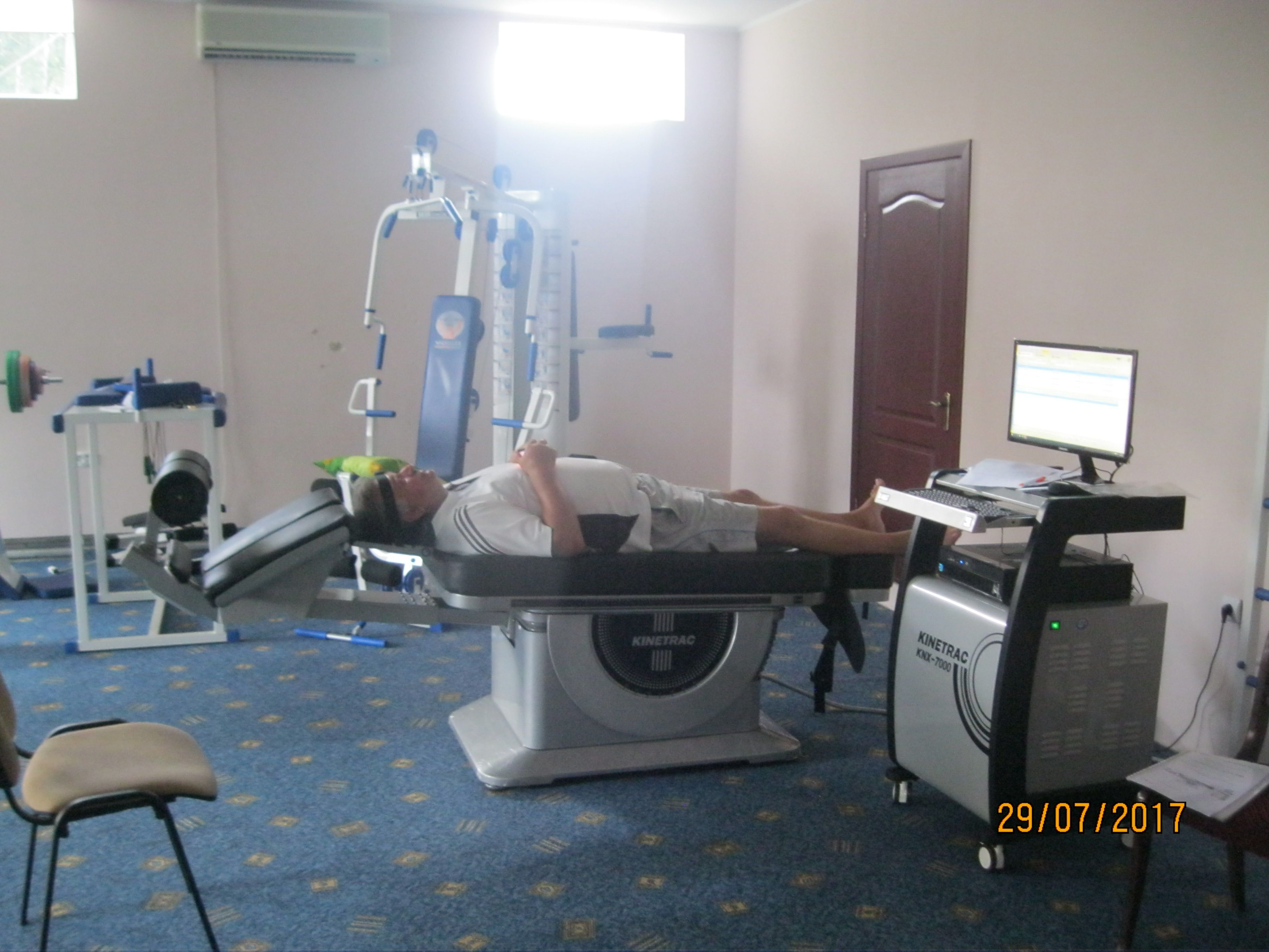 Лечение остеохондроза в Крыму в Феодосии в пансионате Украина 1