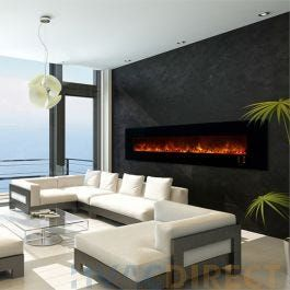 Modern Flames Ambiance CLX2 100 Inch Electric Fireplace- AL100CLX2-G
