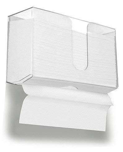 Cq Acrylic Wall Mount Paper Towel Dispenser Acrylic Paper Towel Holder For Bathroom And Kitc Bathroom Paper Towel Holder Towel Holder Bathroom Towel Dispenser