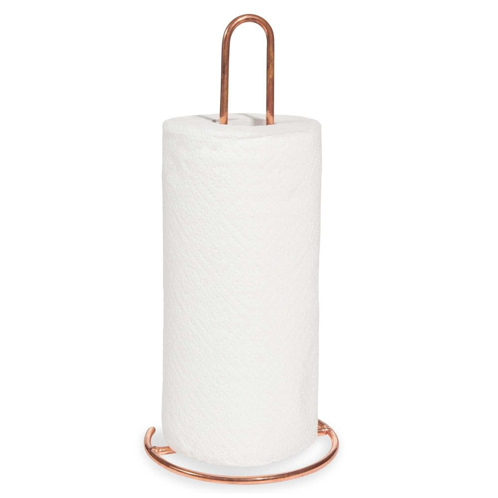 Küchenrollenhalter aus Metall COPPER   // haus # küche ...