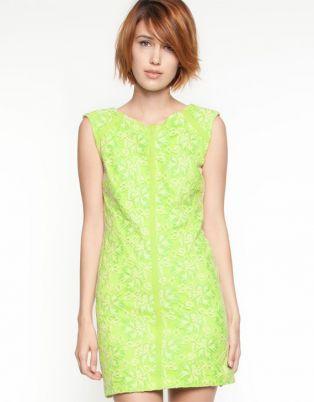 Lace Angular Mini Dress