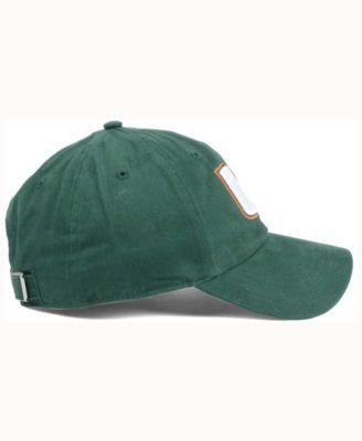 3da6531efd5de 47 Brand Women s Miami Hurricanes Shine On Cap - Green Adjustable ...