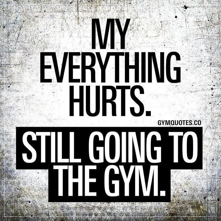 Fitness Goals- don't want to do it but doing it anyway.  Will not stop!  #thursd... -  Fitness Goals...