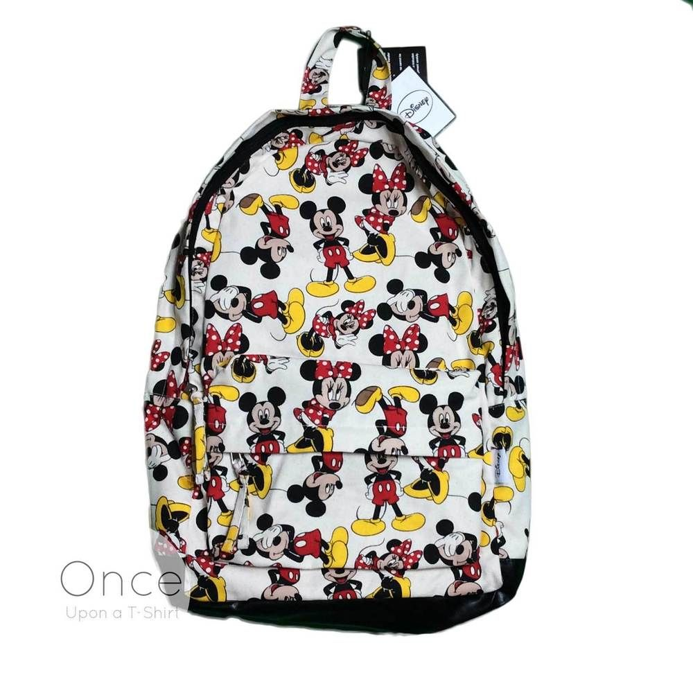 Primark DISNEY MICKEY AND MINNIE MOUSE Retro Backpack Rucksack ...