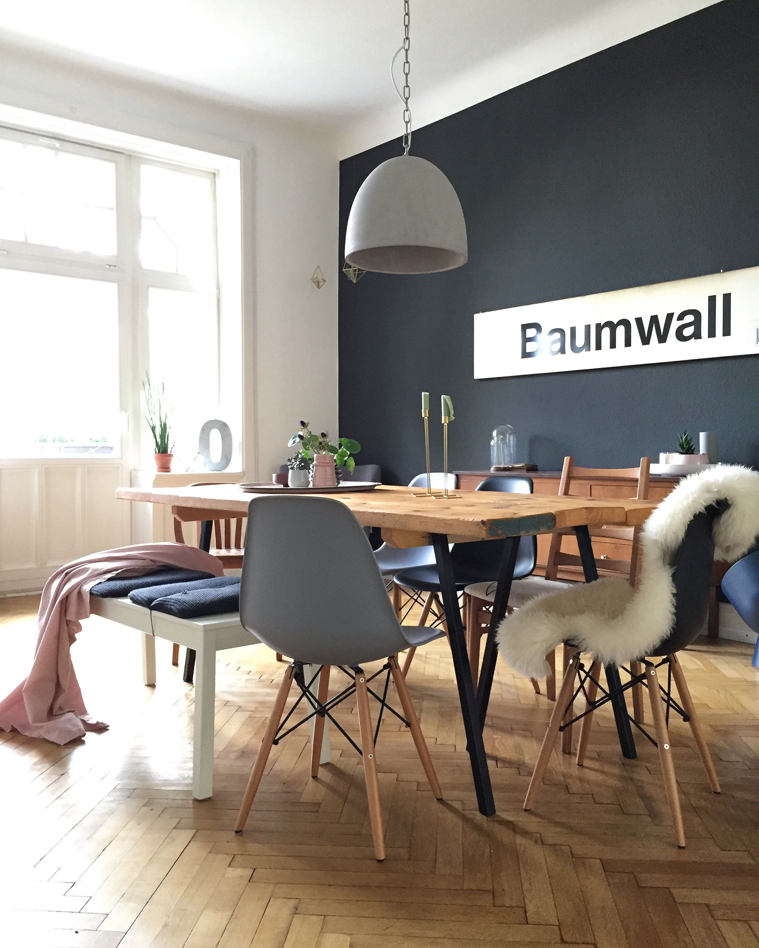Diningroom Diy Diningtable Esstisch Esszimmer Blackwall