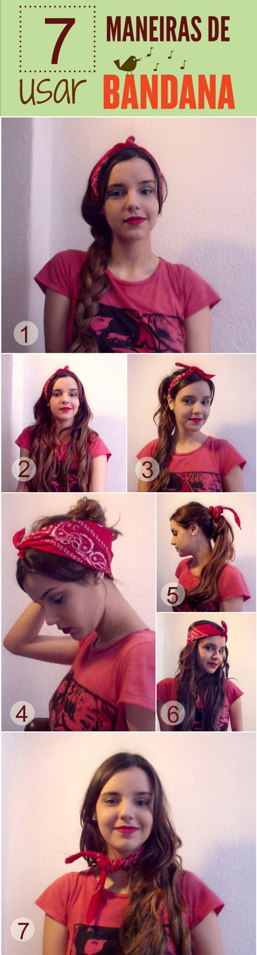 Photo of tutorial-bandana #EasyHairstyleTutorials