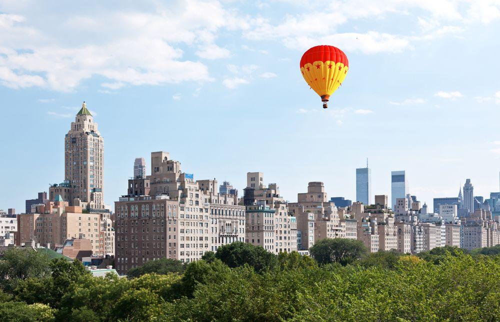 Central Park Hot Air Balloon New york city central park