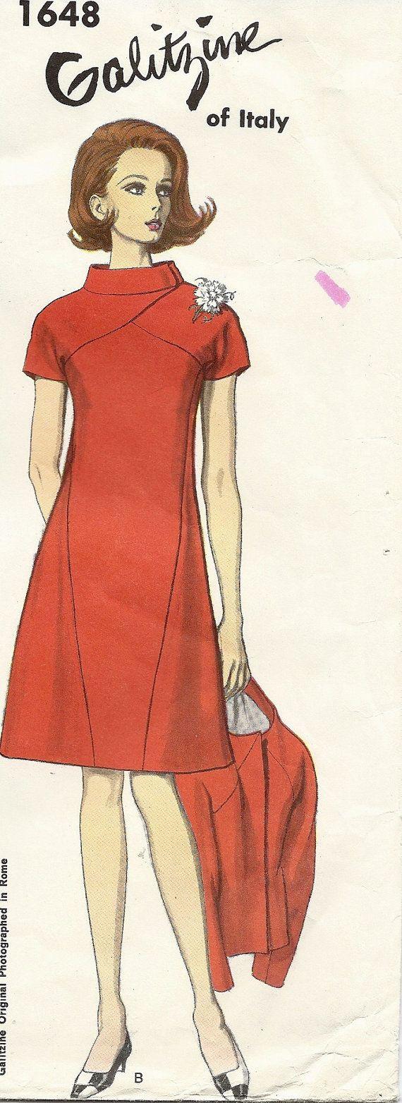 Vogue Couturier Design 1648 IRENE GALITZINE Very by GoVogue, $22.00 ...