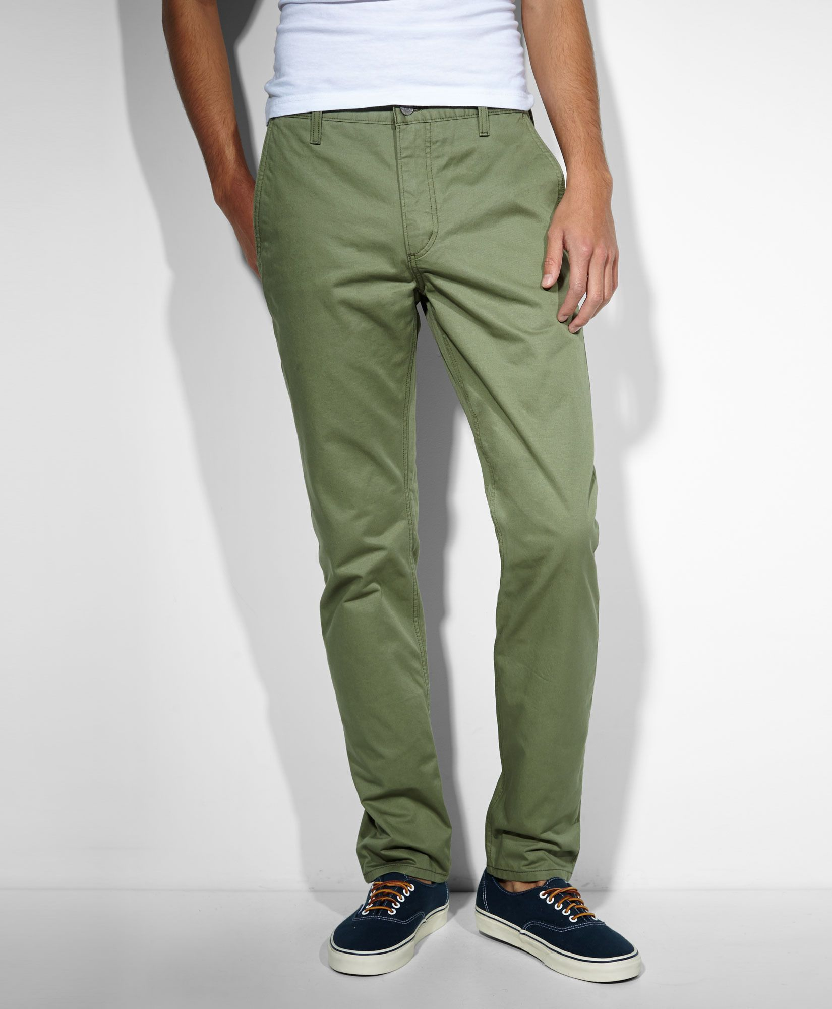 a496b66a9 Levi's 511™ Slim Fit Hybrid Trousers - Deep Lichen Green - Jeans ...