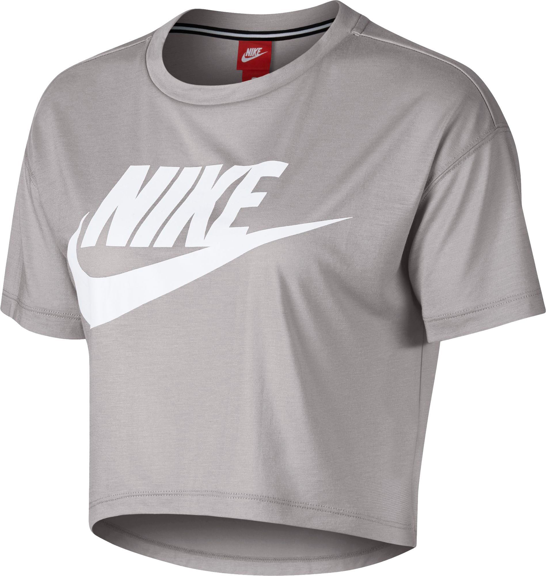 4fd9cd218b44a3 Nike Women s Essential Cropped T-Shirt