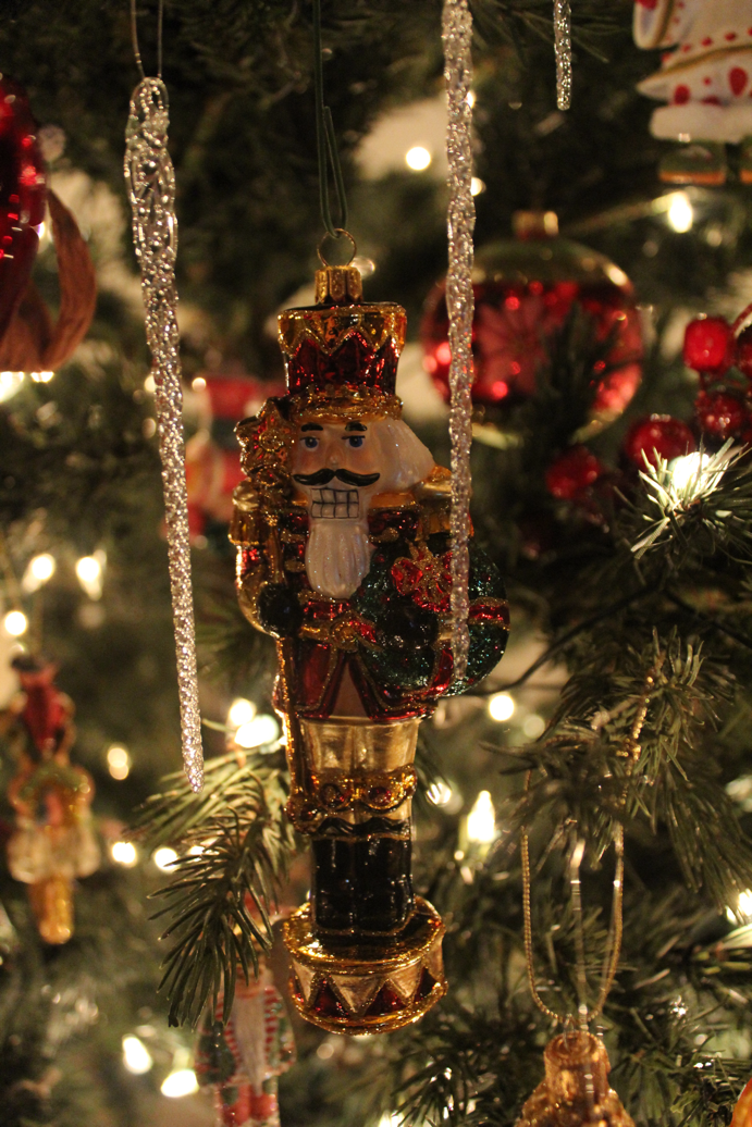 A new Bombay Company Polish glass ornament. It is very special on the tree  this year. - The Christmas Tree Is So Beautiful...I Can't Stop Staring At It
