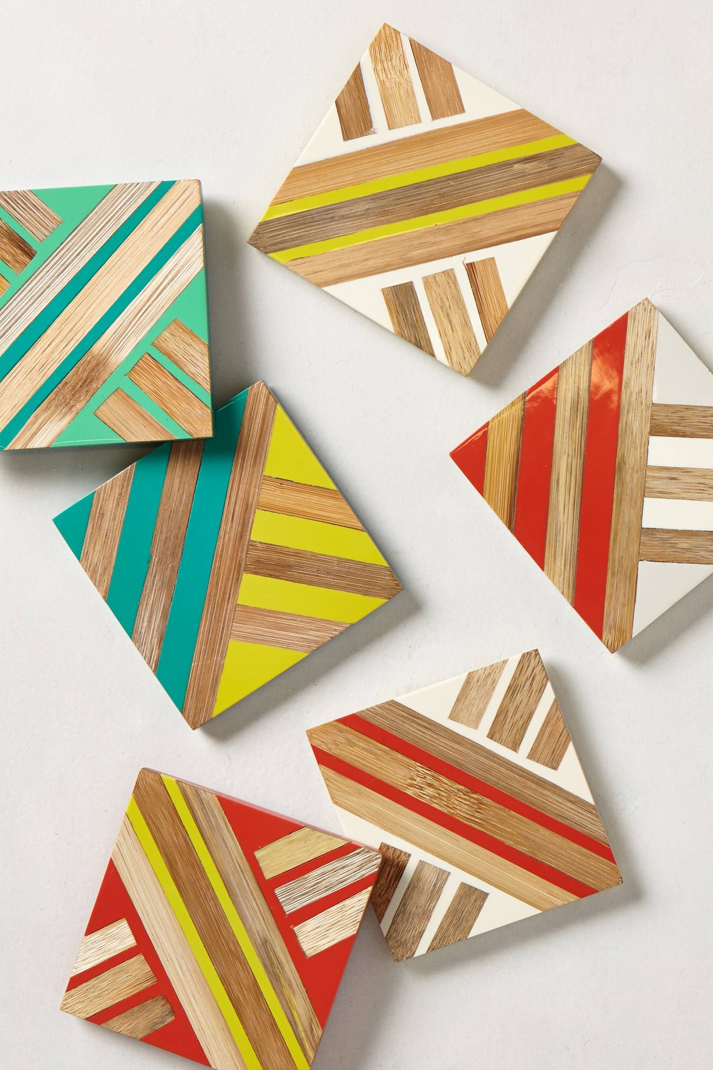 crafty ideas modern coasters. Joles Coaster  anthrofav Diy CoastersModern do it Pinterest Anthropologie