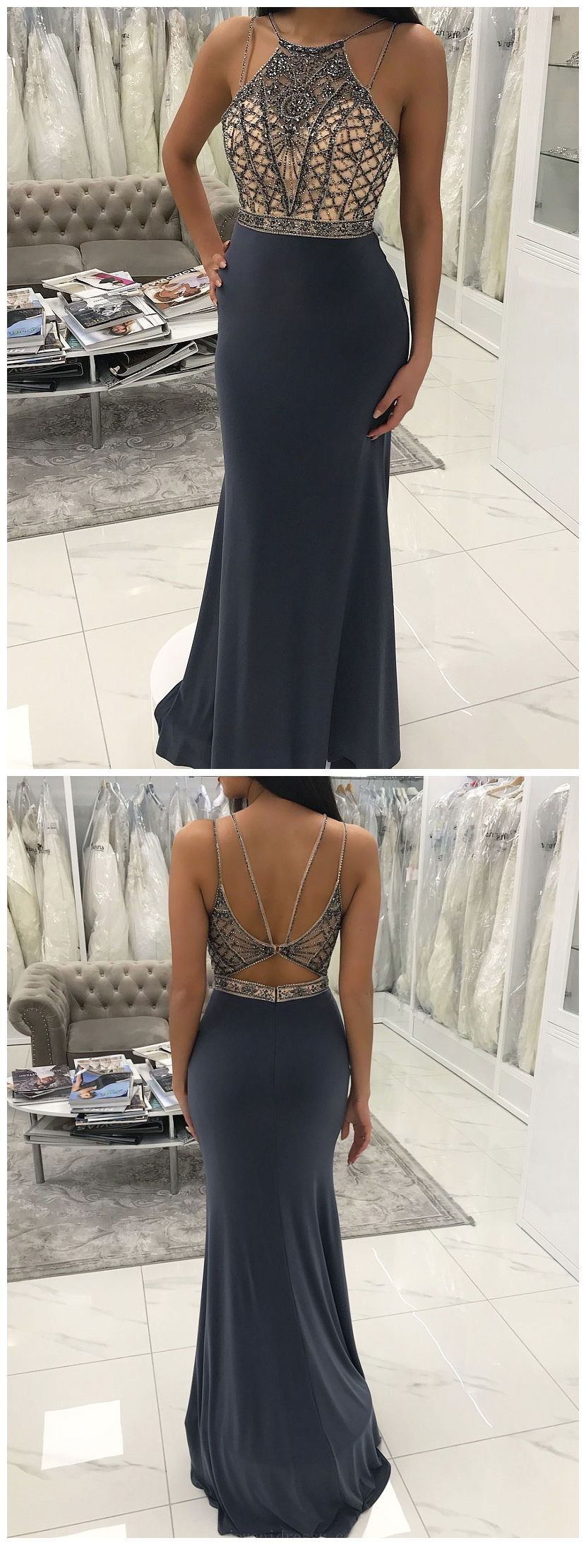 Distinct mermaid prom dresses backless prom dresses prom dresses