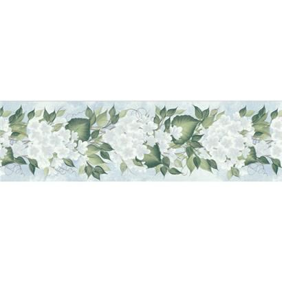 4511727 Light Blue Amaryllis Floral Trail Brewster