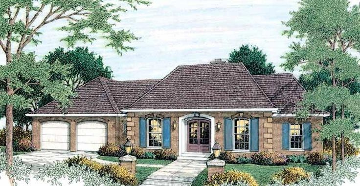 Have A Look At This Refreshing Photo What An Artistic Style Countrycottageexterior In 2020 French Country House Plans House Plans French Country House