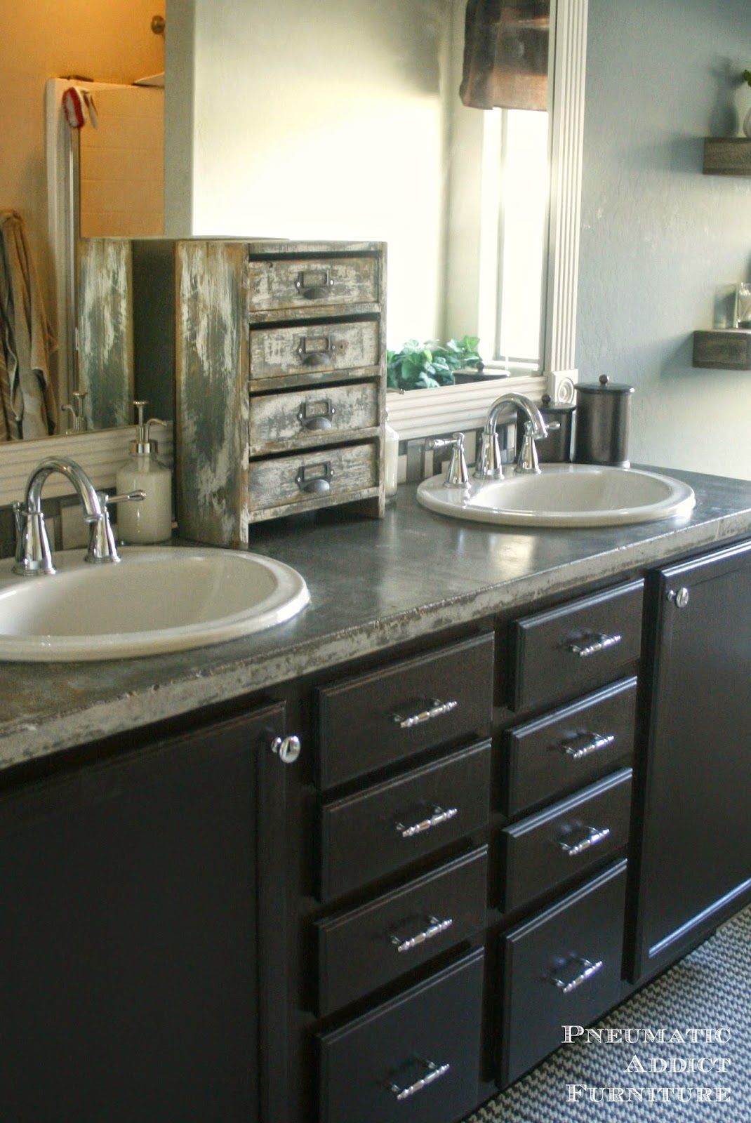 Awesome Iu0027m Adoring This Counter Top Make Up Storage From What A Great Way To Add  Beautiful Storage.