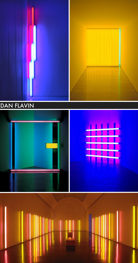 ARTIST TO LOVE: DAN FLAVIN