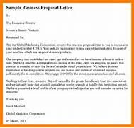 Sample Of Business Proposal Letter  Hostess Resume  Bee