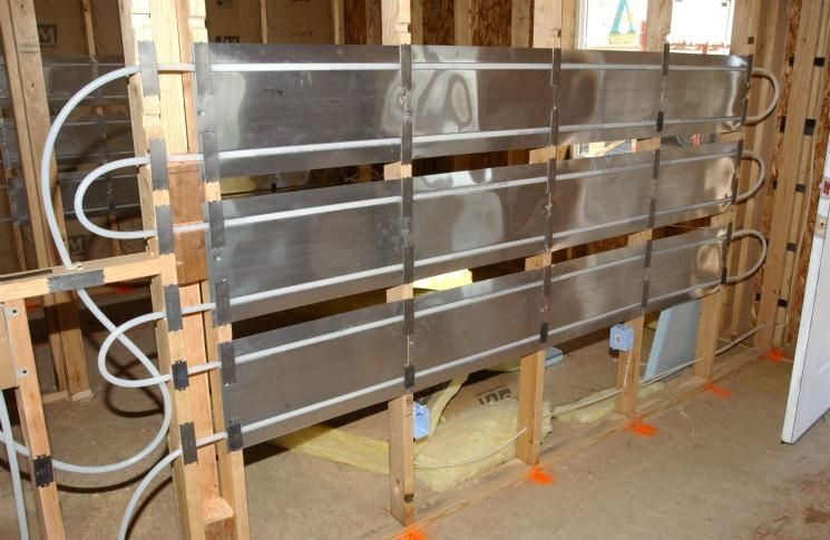Construction Radiant Heat Water System Most Efficient In Walls