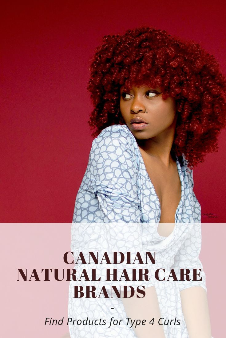 List of Canadian Natural Hair Care Brands Find products
