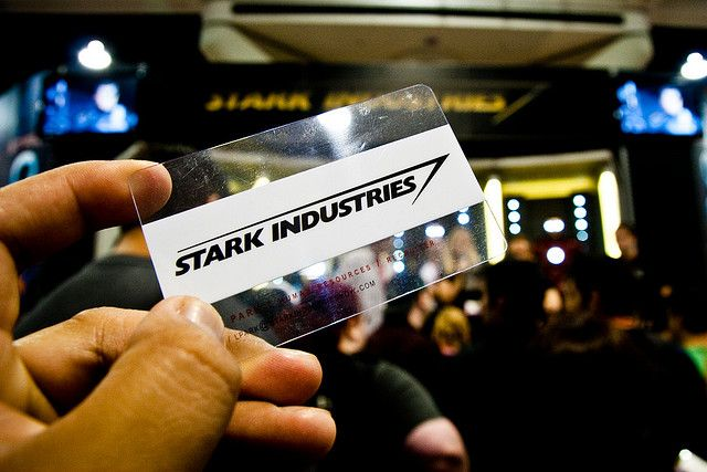 Stark industries business card by stechico via flickr stark stark industries business card by stechico via flickr colourmoves