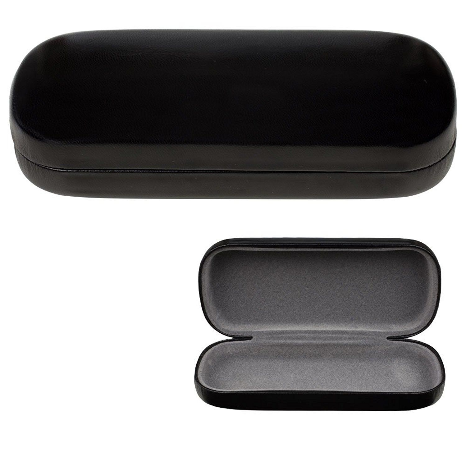 Amazon Com Glasses Case Hard Shell Protects Amp Stores Sunglasses Reading Eyeglasses And Most Eyewear Suitable Glasses Case Hard Glasses Case Sunglasses