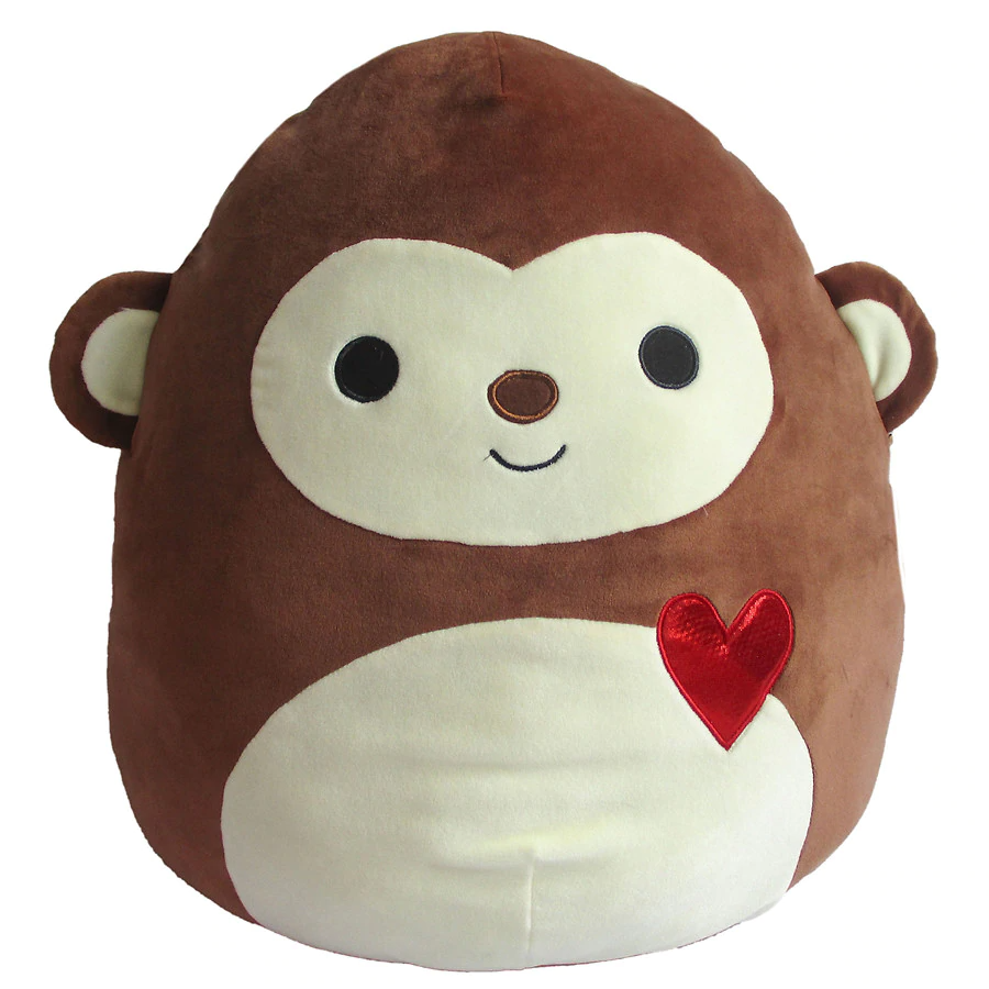 Squishmallow Monkey Plush 16 Inch Walgreens Monkey Plush Plush Monkey