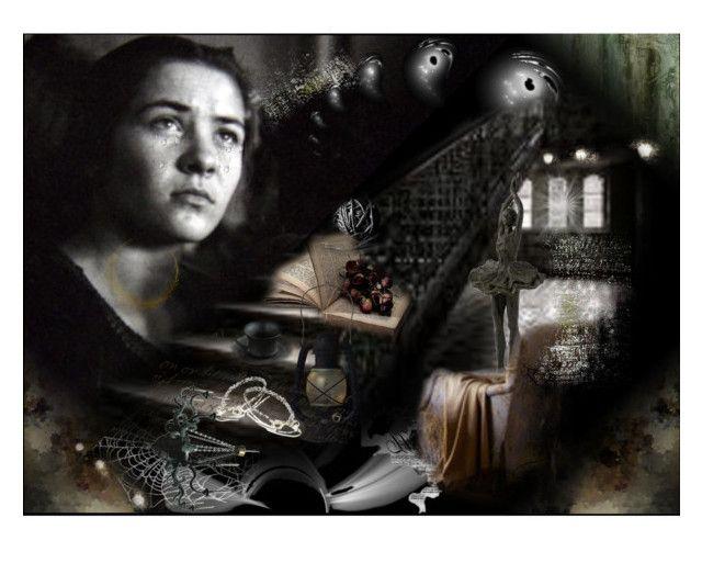 """Desolation"" by kondora ❤ liked on Polyvore featuring art"