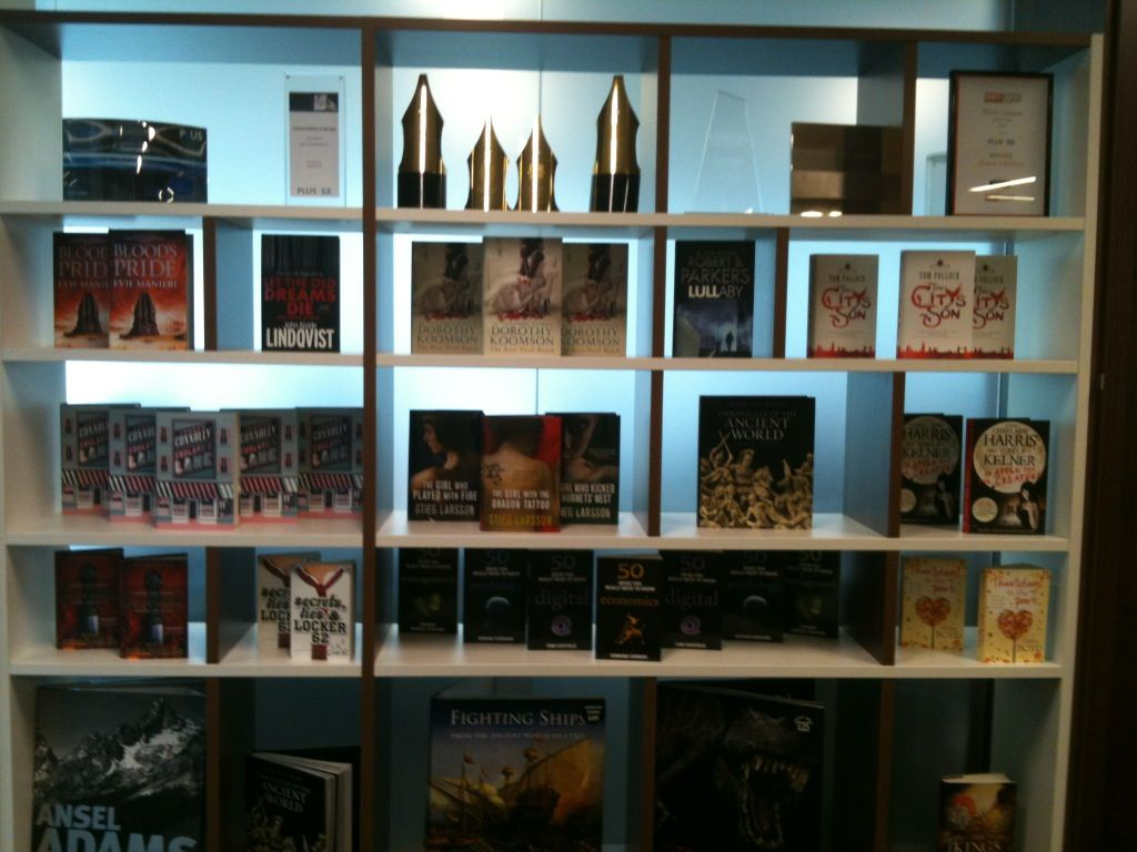New library display
