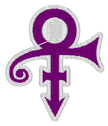 Prince Symbol Embroidered Iron On Patch By Melarkystore On Etsy