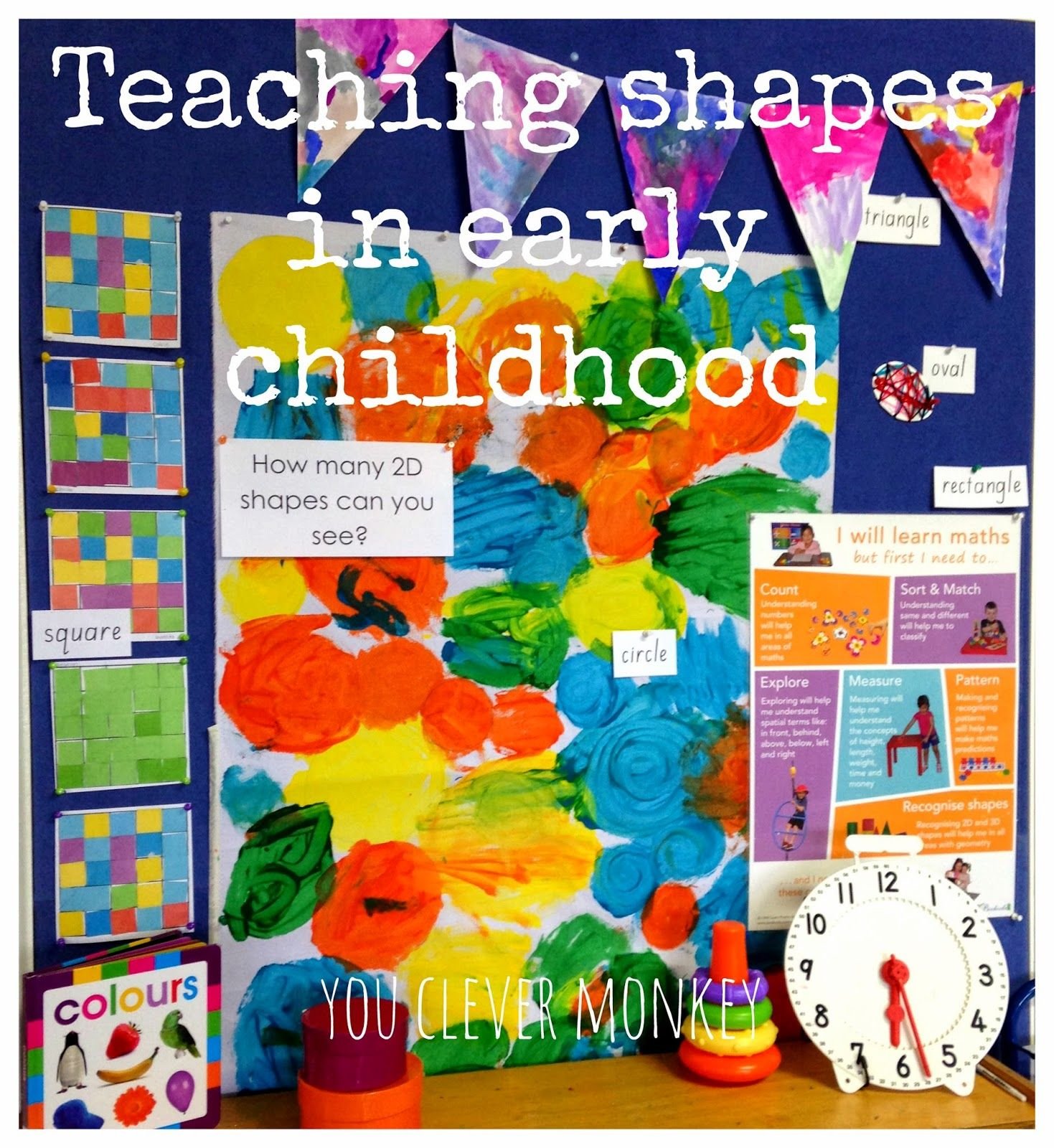 Teaching Shapes In Early Childhood