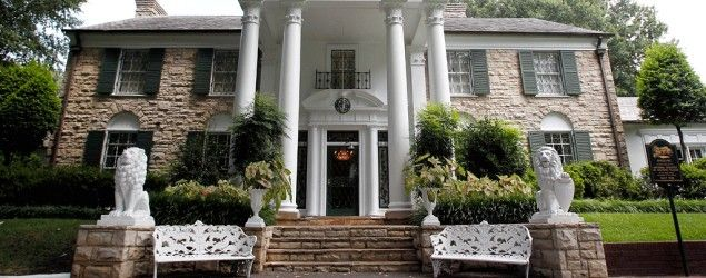 Graceland, Elvis Presley's home in Memphis, Tenn. (Mark Humphrey/AP)