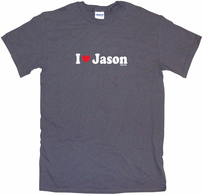 I Heart Love Jason Tee Shirt OR Hoodie Sweat