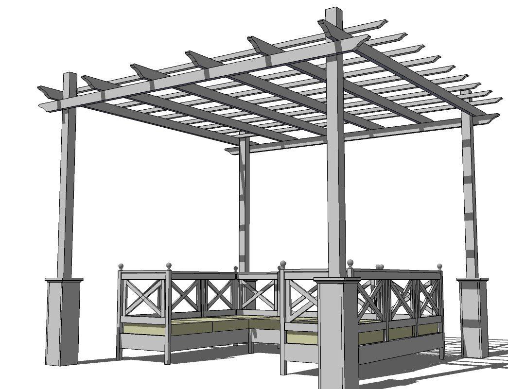 diy pergola canopy plans