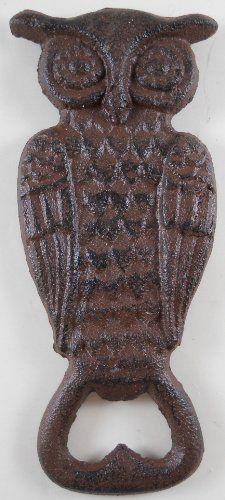 Cast Iron Owl Bottle Opener ~ Brown by MDI, http://www.amazon.com/dp/B009SDVQNK/ref=cm_sw_r_pi_dp_Q0Pdrb03AVQKK