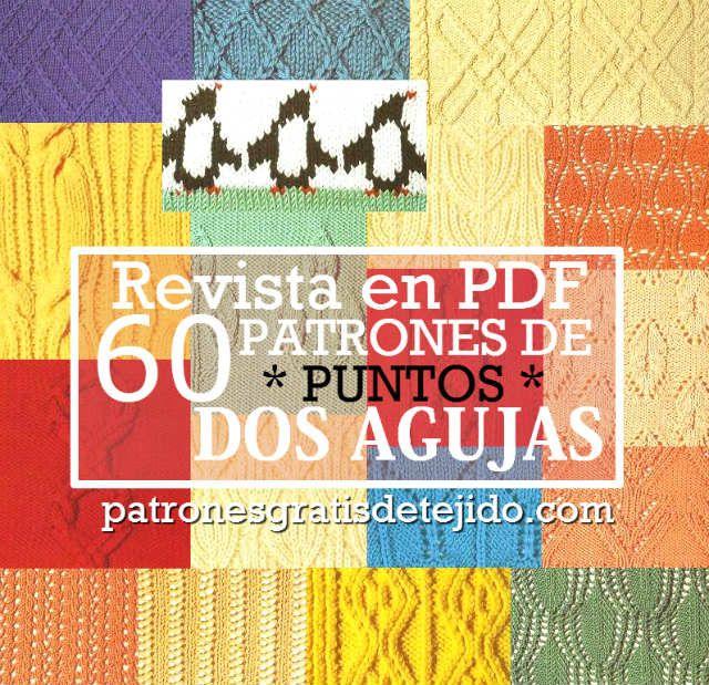 Revista en pdf de puntos dos agujas descarga gratis | Patrones ...