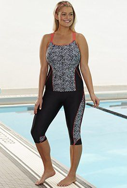 96233577a3 Gym to Swim - Chlorine Resistant Medley Capri Set