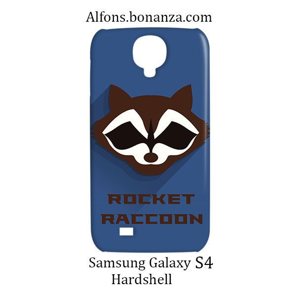 Rocket Raccoon Superhero Samsung Galaxy S4 S IV Hardshell Case