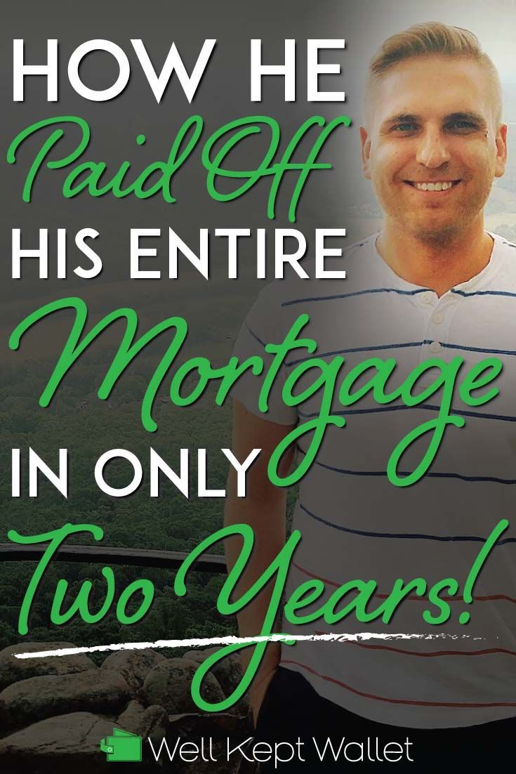 How he paid off 86000 of mortgage in only two years