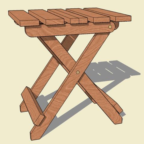 Collapsible Folding Adirondack Table Plan Adirondack Chair Plans Adirondack Table Woodworking