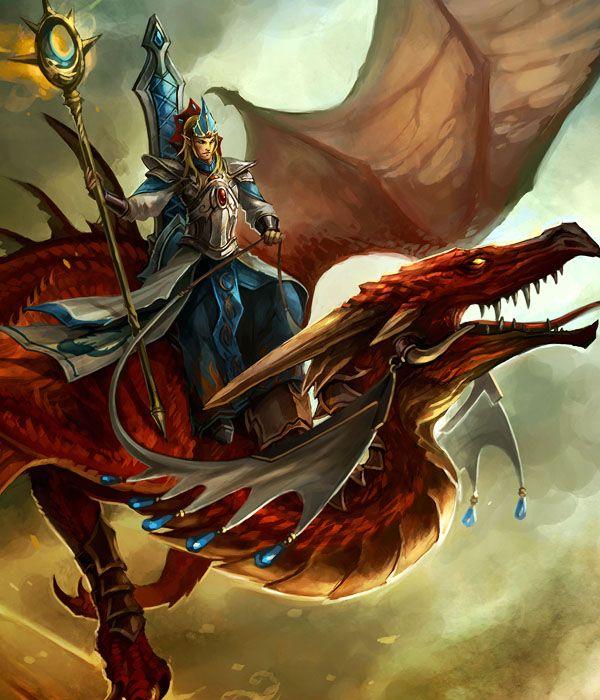 Elven Dragon Rider
