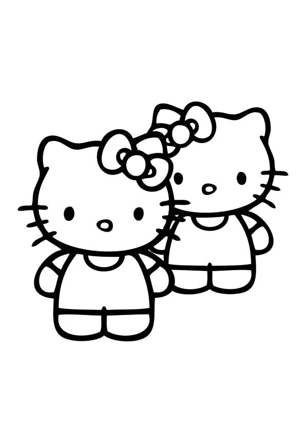 Best Friends Hello Kitty Coloring Pages Best Place To Color Hello Kitty Colouring Pages Kitty Coloring Hello Kitty Coloring
