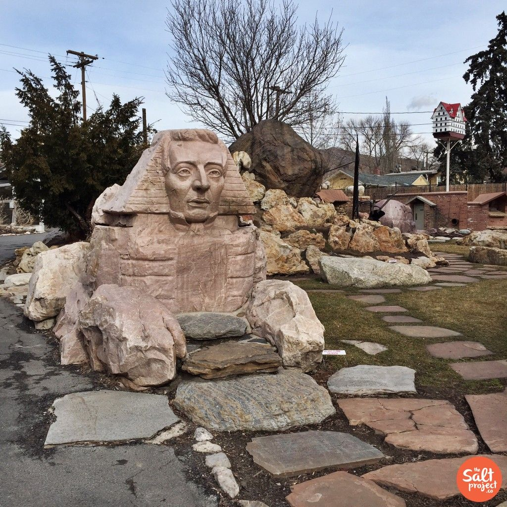 Quite possibly, the weirdest park in all of Salt Lake City. Sphinx ...
