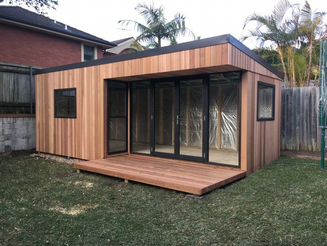 Backyard · A Selection Of Great Photos Of Our Favorite Jobs! Melwood Have  Been Manufacturing Timber Cabins