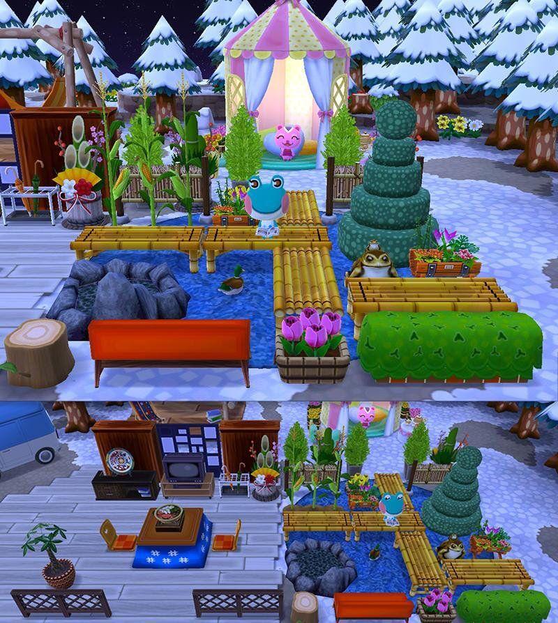 Image result for animal crossing pocket camp campsite
