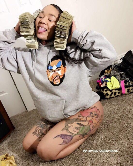 Hood Money Bag Tattoo : money, tattoo, Pinterest:, Thatstabbit, Money, Mind,