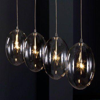 glazen hanglamp santa ovia inrichting pinterest dj living