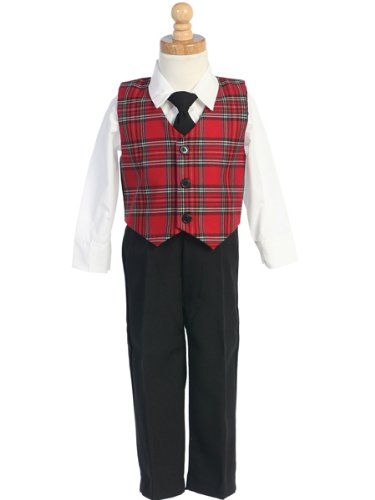 9fc41d799c49 Boys Christmas Suit – Tie Clothing 3 Pc Set – « Clothing Impulse ...