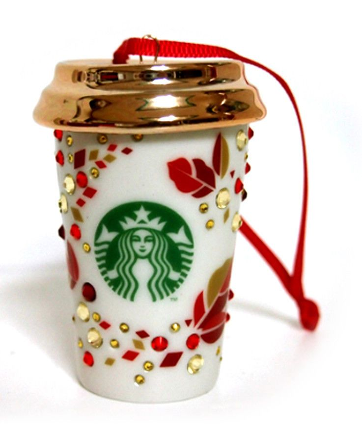 Starbucks KOREA 2013 Christmas Swarovski Collaboration Ornament, Best Gift  Item