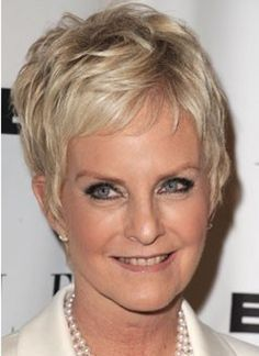 Short Hairstyles For Women Over 50 With Fine Hair   hare   Pinterest ...